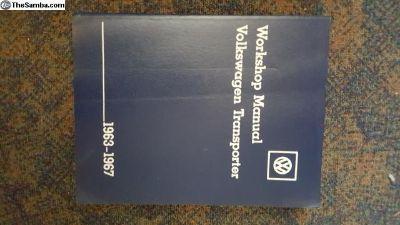 1963-196 Official Workshop manual Transporter VGC