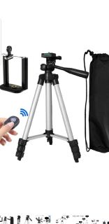 BRAND NEW TRIPOD WORKS FOR ANY PHONE AND CAMERA
