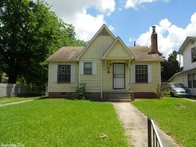 3 Bed 1.5 Bath Foreclosure Property in Little Rock, AR 72204 - Booker St