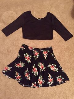Top and skirt size M