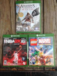 Xbox One games. PRICE EACH