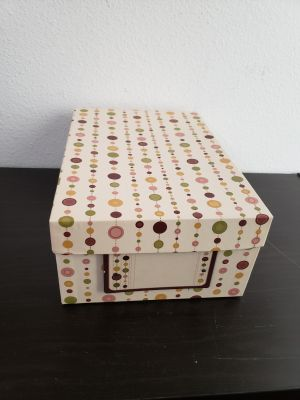 Cute Keepsake Storage Box