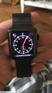 For Sale/Trade: Apple Watch 3 42mm nike + with Milanese loop