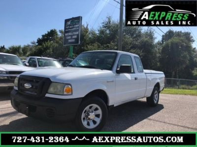 2008 Ford Ranger XL (White)