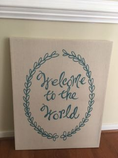 Pottery Barn Kids Nursery Artwork