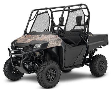 2019 Honda Pioneer 700 Deluxe Side x Side Utility Vehicles Keokuk, IA