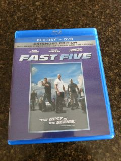 Fast five extended edition