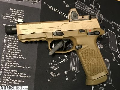 For Sale: FNX Tactical 45