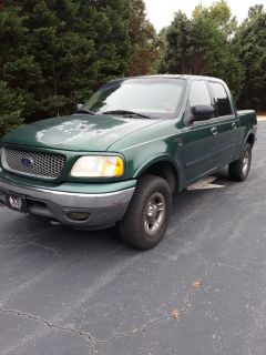 2001 Ford F-150 King Ranch (Green)