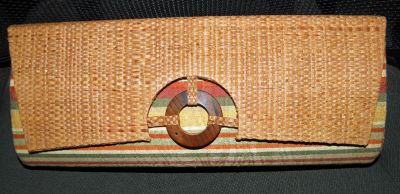 New Novica Rainforest Clutch by Carlos Paiva
