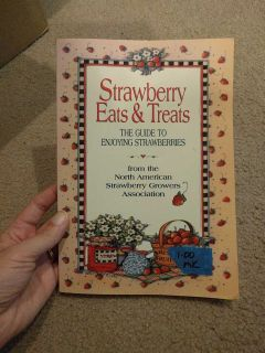 Strawberry Eats and treats cookbook.