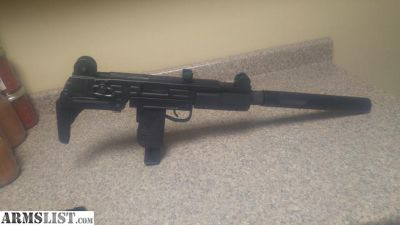 For Trade: walther .22 uzi rifle