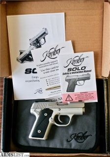 "For Sale: Kimber Solo Carry STS 9mm 3"" w/ BOX"