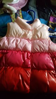 Puffer vest size 12/18 months new with tags