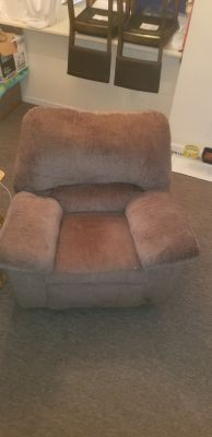 Couch , rocking recliner