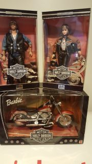Harley Collector Edition Barbie Set