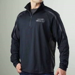 Buy Arctic Cat Men's Performance 1/4 Zip Sweatshirt Hoodie - Black Atv Utv XL motorcycle in Tualatin, Oregon, United States, for US $59.99
