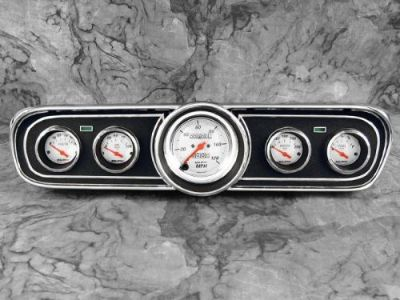 Sell 65 66 Mustang Billet Aluminum Adapter Panels w/ Auto Meter Arctic White Gauges motorcycle in Tempe, Arizona, United States, for US $479.95