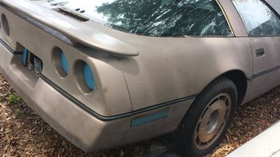 1986 Corvette Project