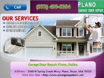 Commercial New Garage Door Installation Service $25.95 |Plano, 75023