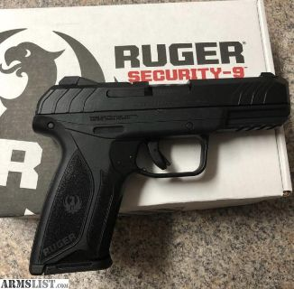 For Sale: Like New Ruger Security 9