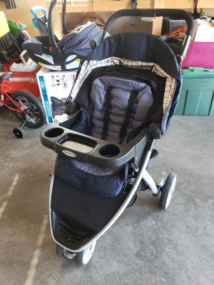 Graco Stroller, Carrier, and bases