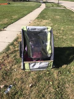 Bike trailer and double stroller FREE!!!!