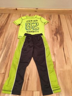 Boys athletic outfit