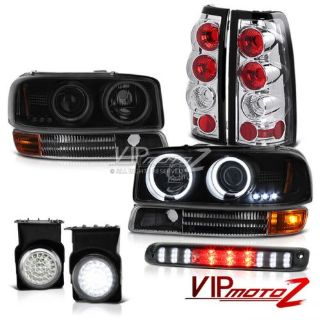 Purchase 2003 Sierra Sinister Black CCFL Headlights Parking Tail Light LED Fog Roof Brake motorcycle in Walnut, California, United States, for US $403.27