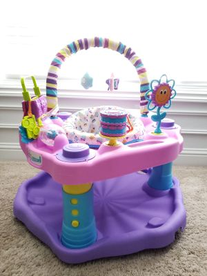 Exersaucer: Bounce and Learn Sweet Tea Party