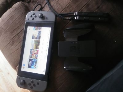 Nintendo switch with 8 games