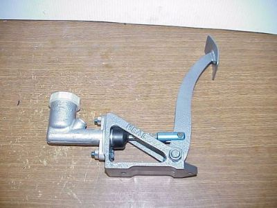 Purchase Neal Forward Floor Mount Clutch / Brake Pedal & Aluminum Master Cylinder WP2 motorcycle in Monmouth, Illinois, United States, for US $110.00
