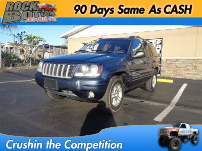 2004 Jeep Grand Cherokee Special Edition (Blue)