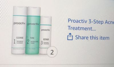 Proactive 3 step treatment