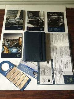 Buy 2012 LAND ROVER RANGE ROVER DRIVER'S OWNER MANUAL WITH A CASE AND STICKER motorcycle in Missouri City, Texas, United States, for US $89.99