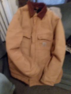 Carhartt Size Large/Tall DUCK TRADITIONAL COAT / ARCTIC QUILT LINED.