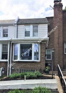 Nicely Renovated 3-Bedroom Row Home For Rent - 324 Leverington Avenue - Available Now!
