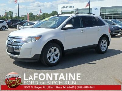 2013 Ford Edge SEL (White Platinum Tri-Coat Metallic)