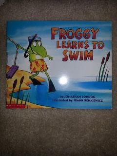 Froggy Learns To Swim, Let's Go Froggy, Froggy s Sleepover, Froggy Goes to Bed books