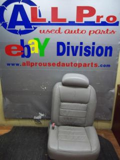 Buy 1999 - 2002 LINCOLN TOWN CAR DRIVER FRONT SEAT OEM GREY LEATHER POWER W/O MEMORY motorcycle in Auburndale, Florida, US, for US $99.99