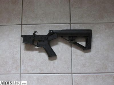 For Sale: Anderson AR-15 AR15 Complete Lower Receiver