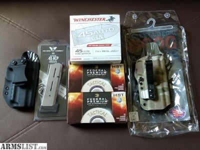 For Sale: 1911 holsters and mag - G-code/Wilson Combat/Black Rhino Concealment