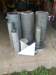 Wood stove pieces
