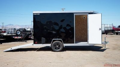 6x12 Aluminum Cargo Trailers, Motorcycle Enclosed Trailer, Wells Cargo Trailer WAUV6X121
