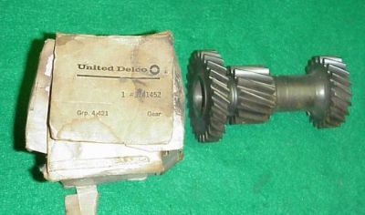 Find NOS 58 59 60 61 62 63 GM CHEVY 3 SPEED CLUSTER GEAR CORVETTE IMPALA BEL AIR motorcycle in Fort Wayne, Indiana, United States, for US $64.95
