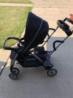 Graco click connect and classic connect double stroller