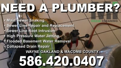 Local Plumber; Experts in Clogged Drain Cleaning & Plumbing Repairs (Commerce Township)