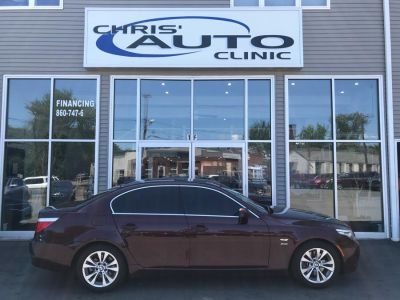 2009 BMW 5-Series 535xi (Burgendy)