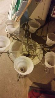 17 Assorted light fixtures, fans - Must buy lot - wont seperate
