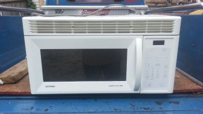 Hotpoint Over The Range Microwave